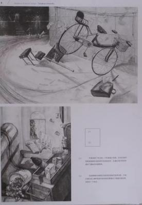 美术艺考:16年清华美院艺考素描高分卷